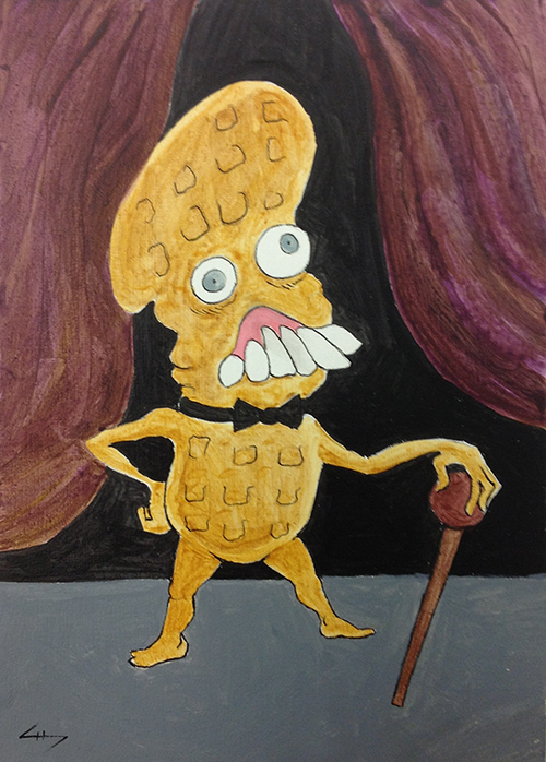 In what would become a public relations nightmare, Nabisco unveils their real, genetically engineered Mr. Peanut.