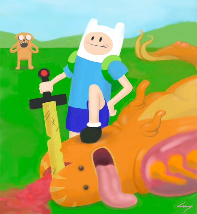 Finn and the Dragon_