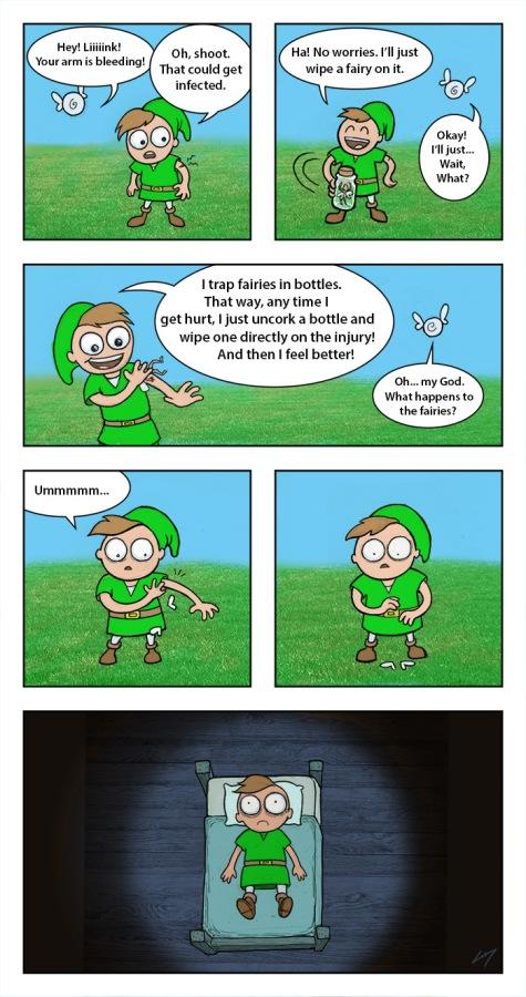 Clap your hands, Link!